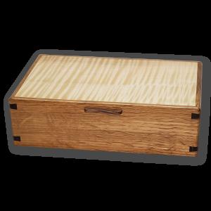 medium jewelry box by naturally wood of nanaimo, bc
