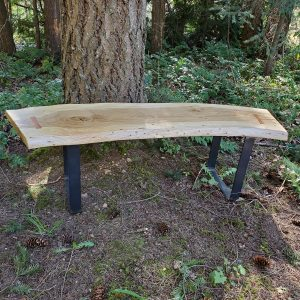 Live edge coffee table by Naturally Wood of Nanaimo, BC