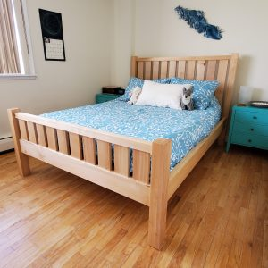 double bed by naturally wood of Nanaimo, BC